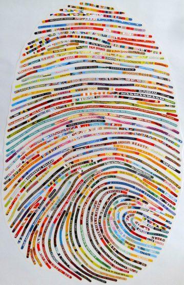 Cheryl Sorg Thumbprint Portrait
