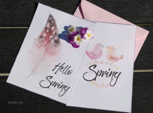 Hello Spring - Spring - digital download - print - bye9design
