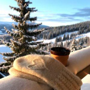 Strikk varme vintervotter