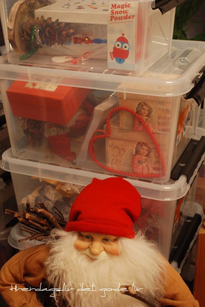 Julepynten er organisert. Slik kan du ta vare på julepynten