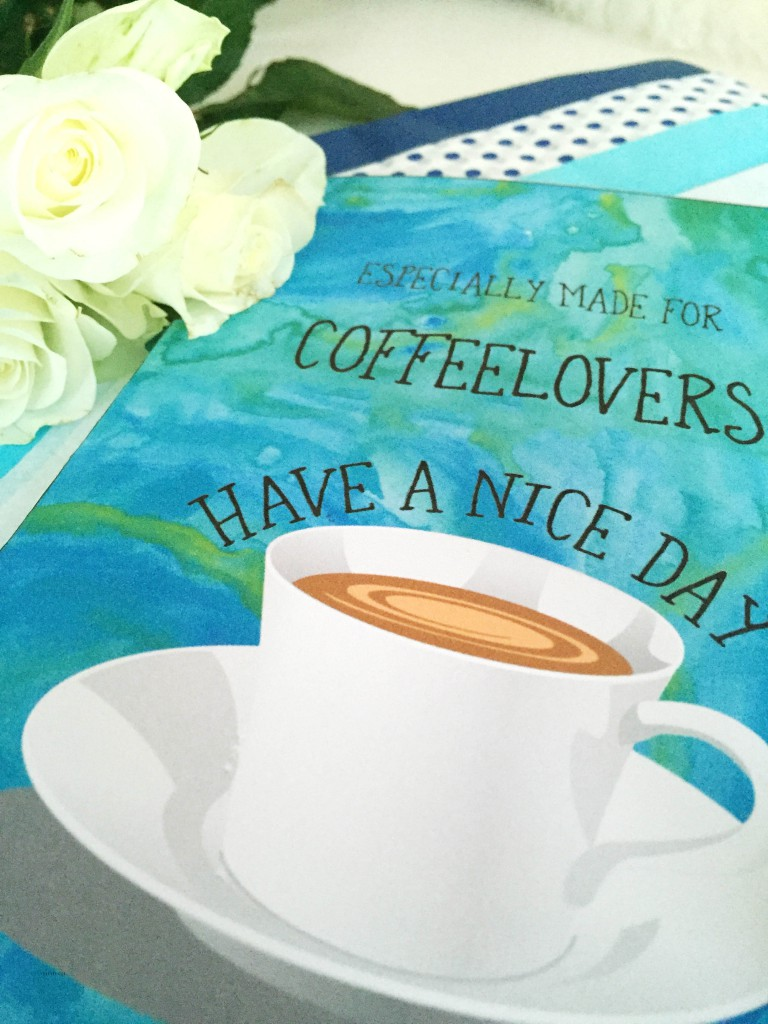 coffee lovers - card - bye9design digitalt print - nordic design