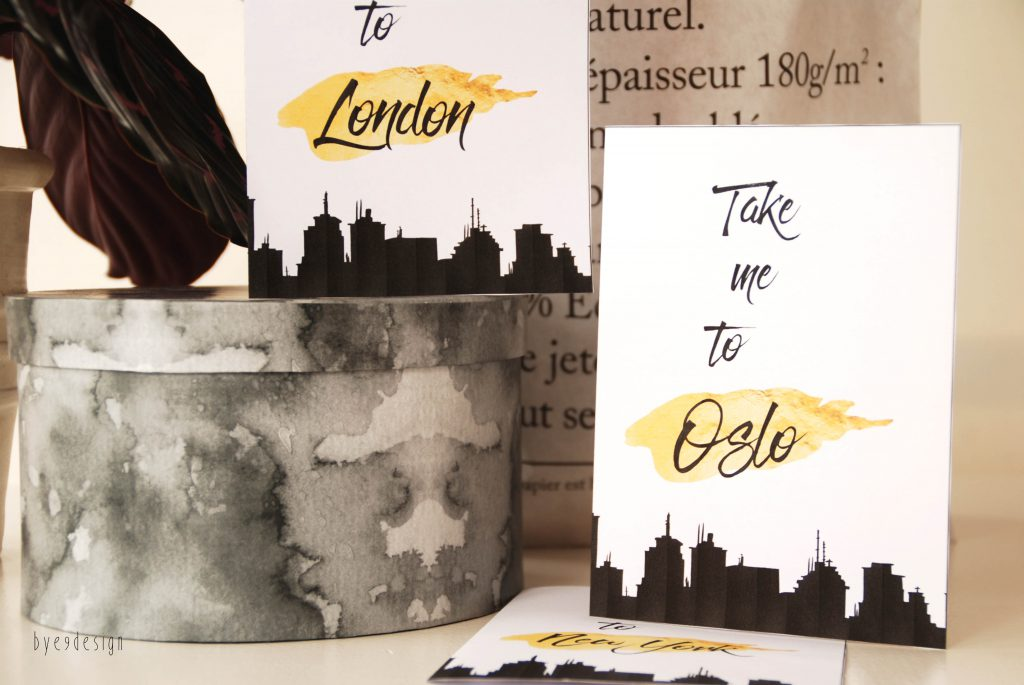 Take me to..... bye9designprintshop - nordic design