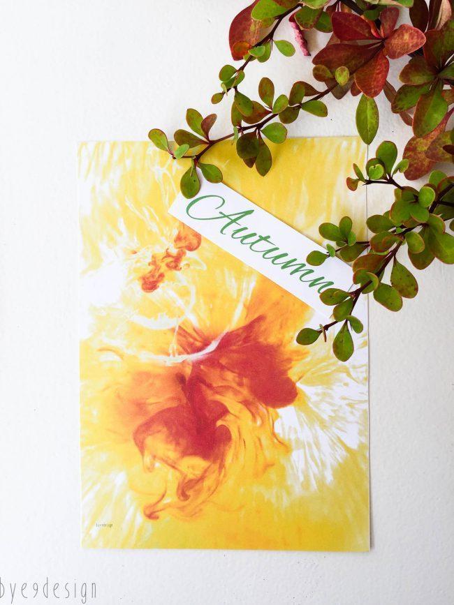 Høst - digital print - bye9design