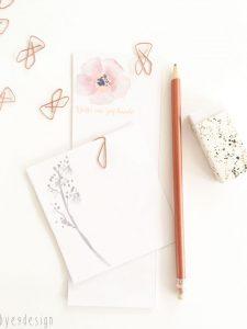 Lag dine egne notatblokker - bye9design