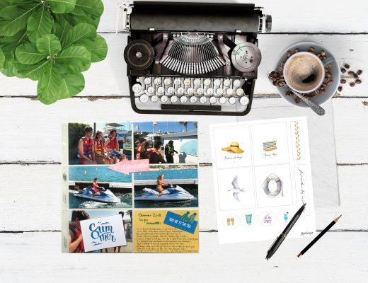 De første feriebildene er satt i fotoalbum - Project Life®