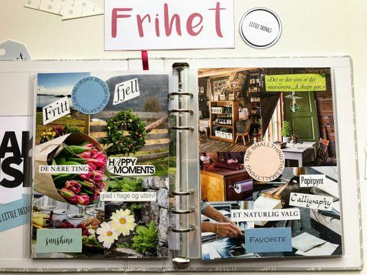 Lag en collage med årets ord - One little word