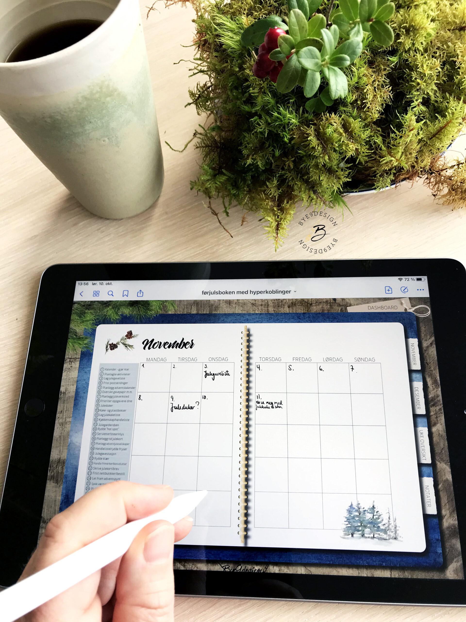Kom i gang med digitale planleggere og journaler