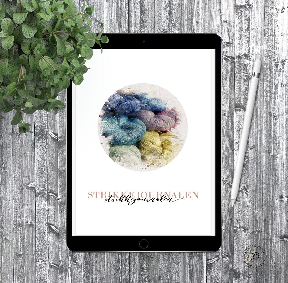 Digital strikkejournal fra Bye9design